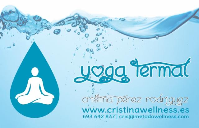 yoga termal tarjeta frontal